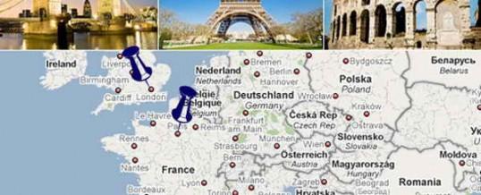 Путешествия и отдых в Европе