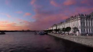 Сезон белых ночей в Санкт-Петербурге