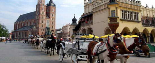 Путешествие в Краков на автомобиле с детьми