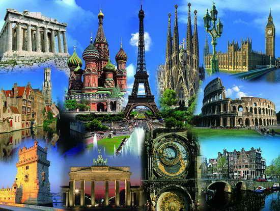 Отпуск Европа