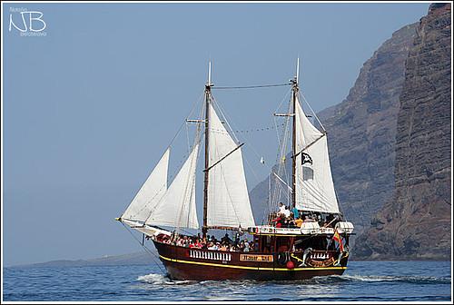 Морской поход на пиратской яхте.