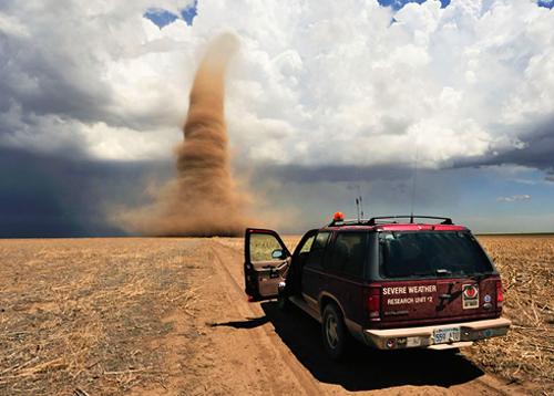 Путешествие по США.Аллея Торнадо.