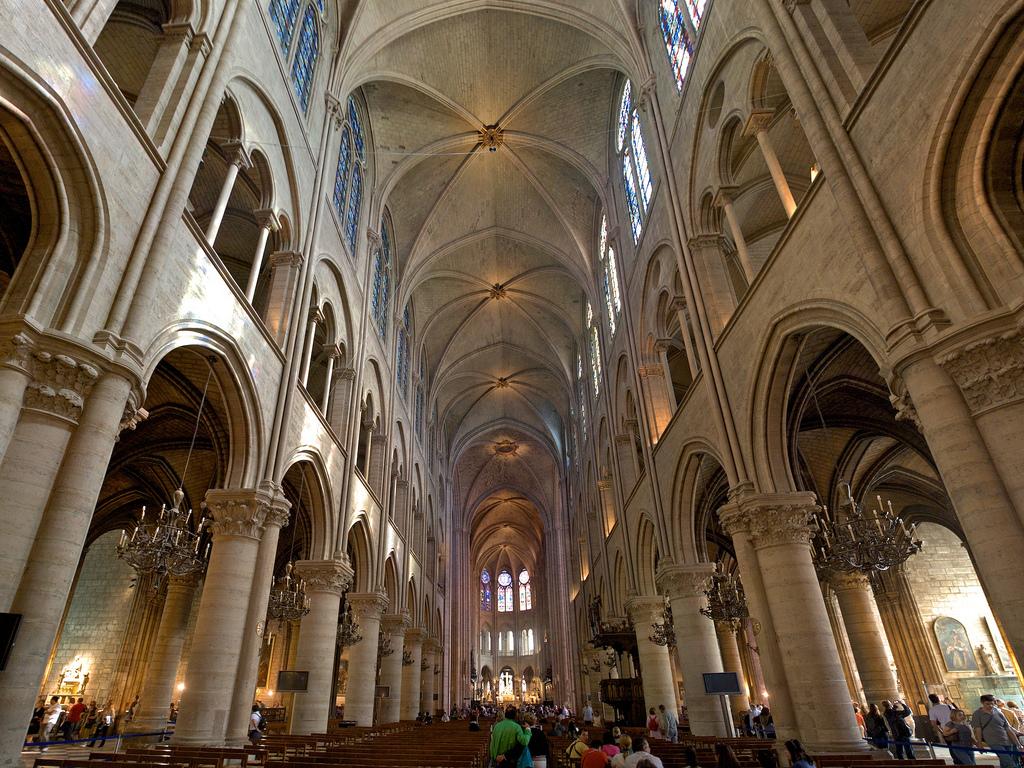 фото собора нотердам де пари