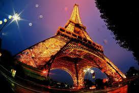 Ейфелева башня в Париже