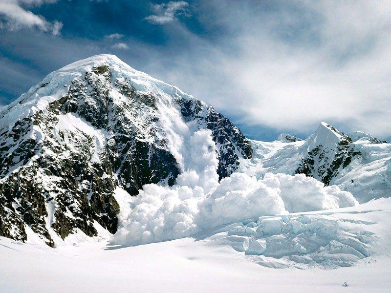 Лавина на Аляске