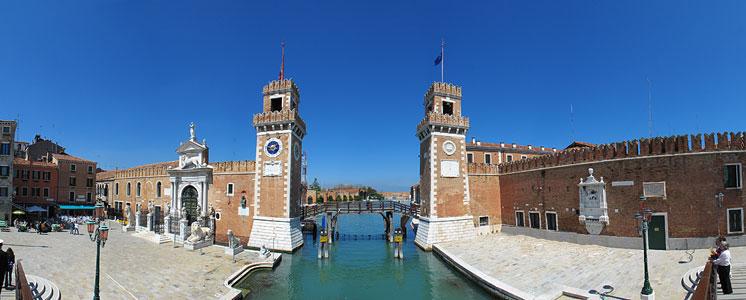 Морские ворота Арсенала Венеции
