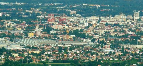 Город на севере Италии Порденон