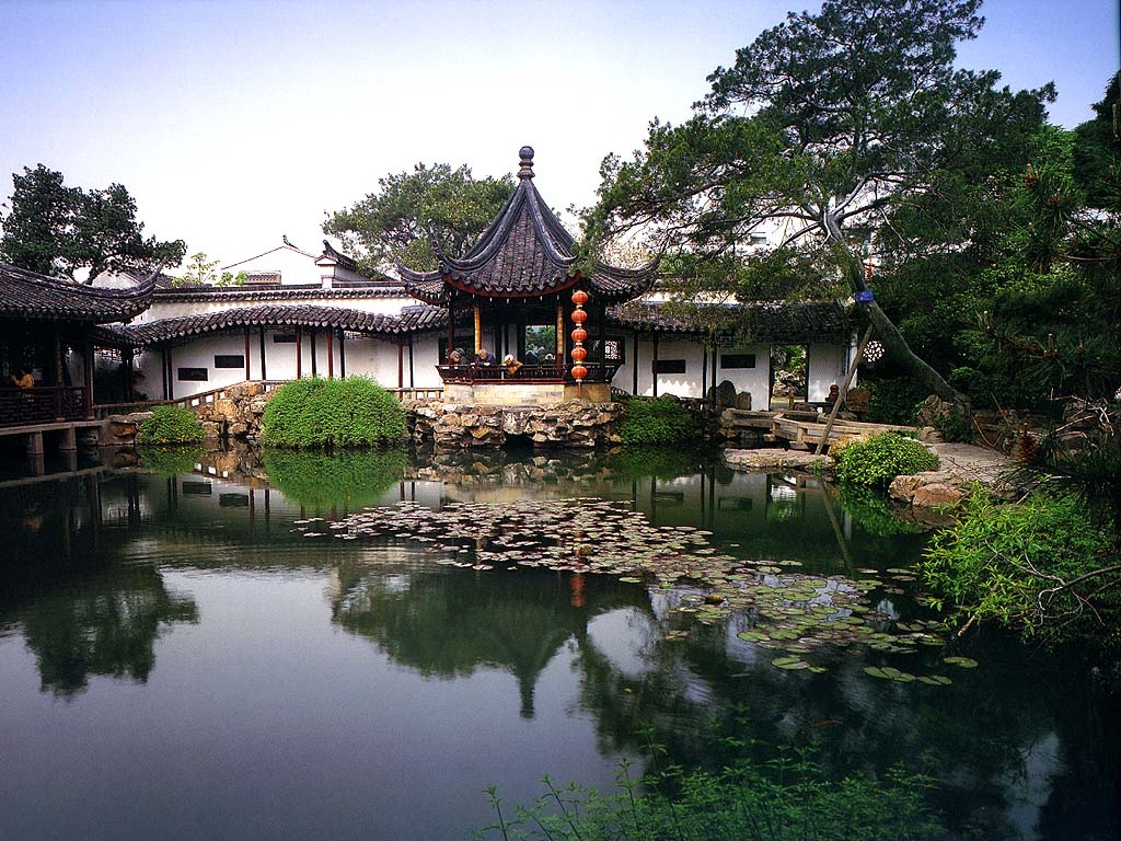 сады в Токио
