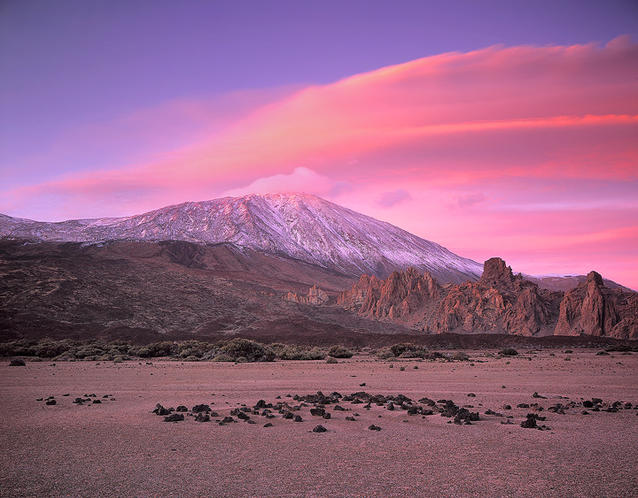 Вулкан Тейде с острова Тенерифе