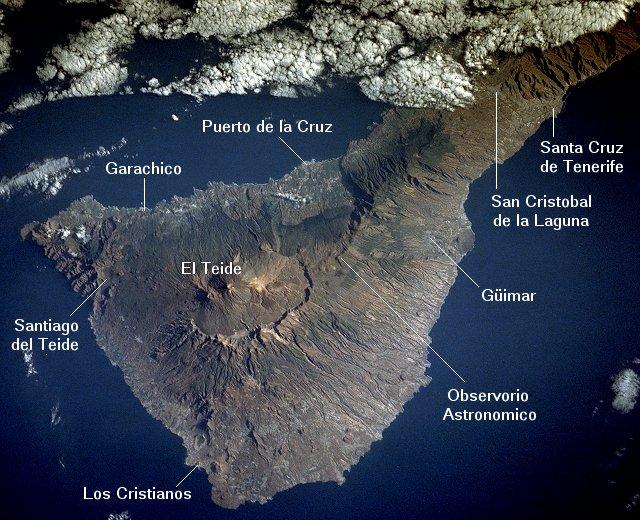 Вулкан Тейде, остров Тенерифе