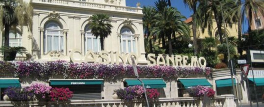 Знаменитый курорт Сан-Ремо. В лучшем казино Сан-Ремо.