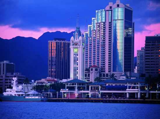 На Гавайских островах, столица штата Гавайи – Гонолулу