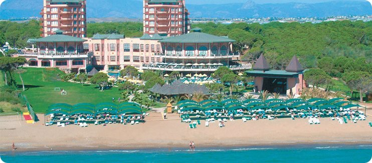 Сеть отелей Папилон на побережье Анталии