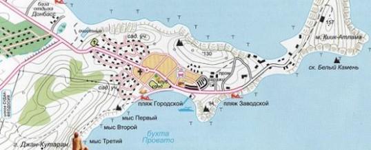Нудистские пляжи Крыма: секретные