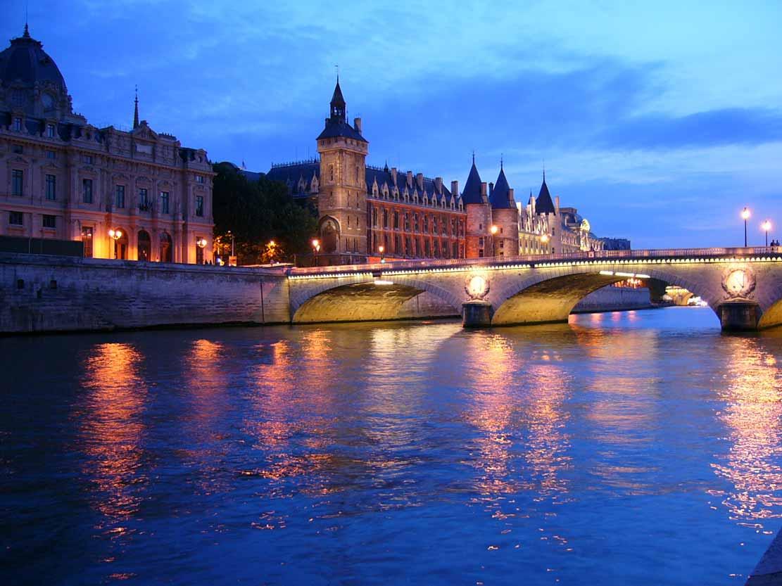 Париж франция сена
