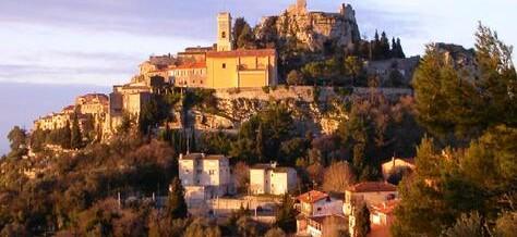 Деревня Эз, Франция