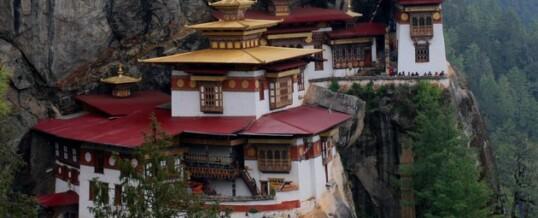 Путешествие в «Логово тигра» — буддистский монастырь в Бутане