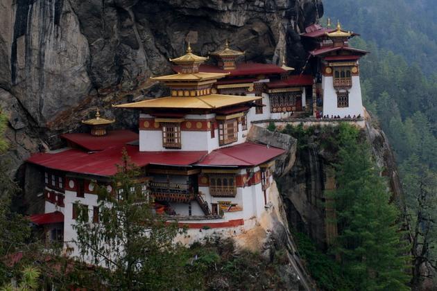 «Логово тигра» - буддистский монастырь в Бутане