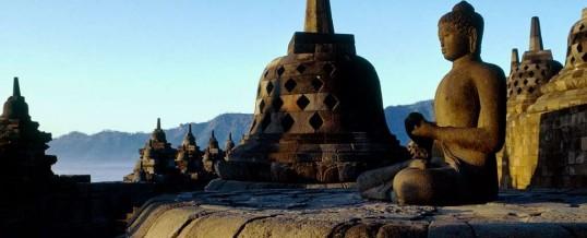 Боробудур – самый большой храм Будды остров Ява Индонезия