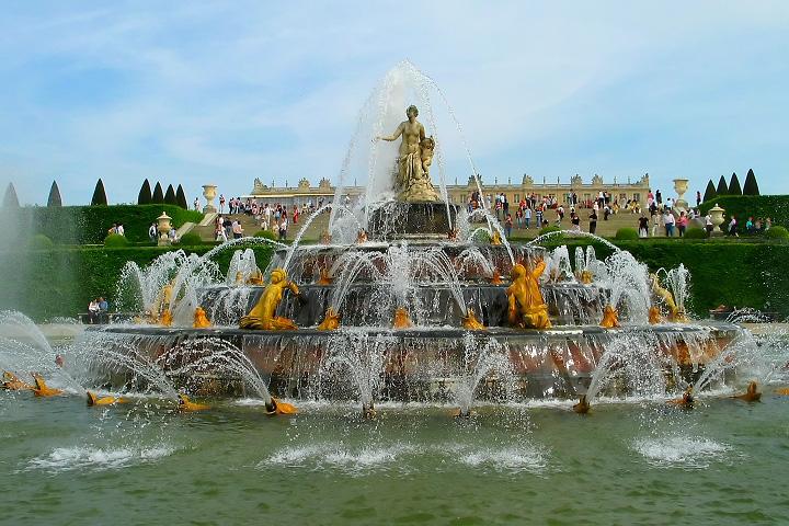 Фонтаны в Версале