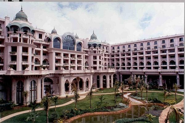 Отель-дворец на Южном Гоа