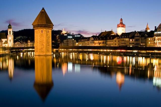Путешествие в город Люцерн, Швейцария