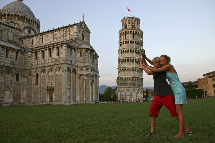 Пизанская башня.Самостоятельное путешествие в Италию