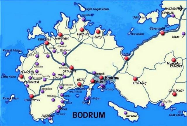 Полуостров Бодрум Турция