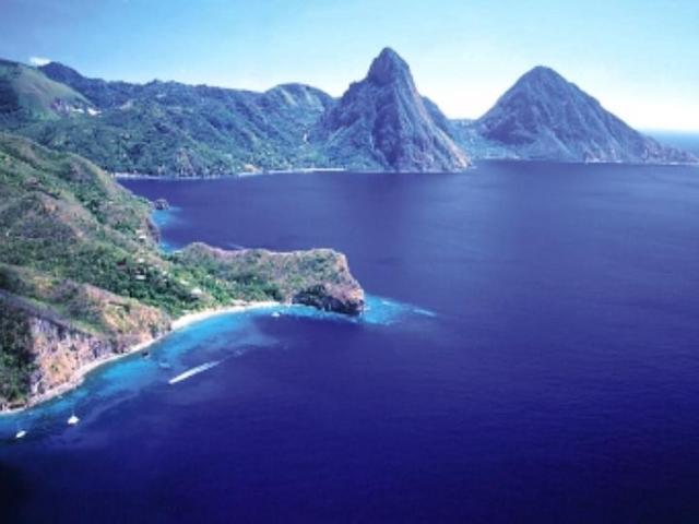 Горы Питон острова Сент Люсия (лучшие курорты)
