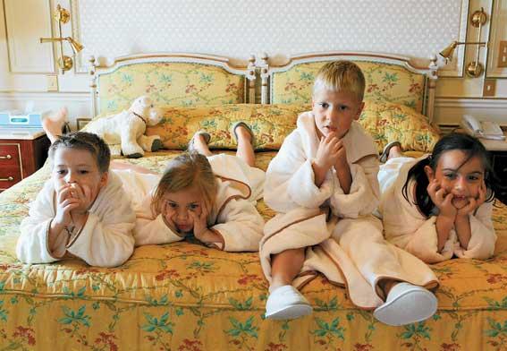 Отдых с детьми в гостинице