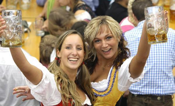 Октоберфест-фестиваль пива в Мюнхене