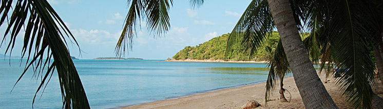 Пляж Бан Рак Самуи Тайланд