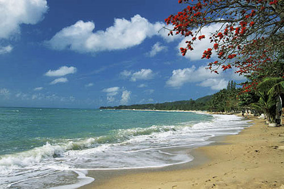 Пляж Ламай Самуи Тайланд