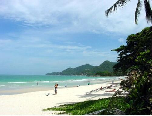Пляж Чавенг Самуи Тайланд