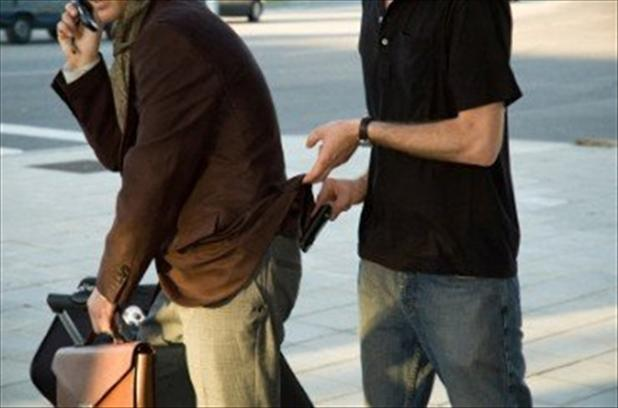 Карманные кражи в центре Праги