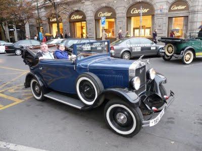 Аренда старинного кабриолета в Праге
