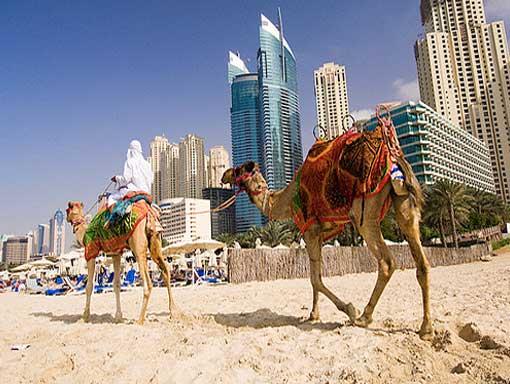 Пляжный отдых в Дубаи