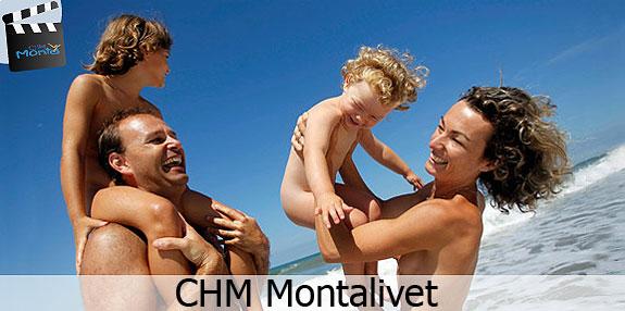 Пляж натуристов CHM Montalivet во Франции