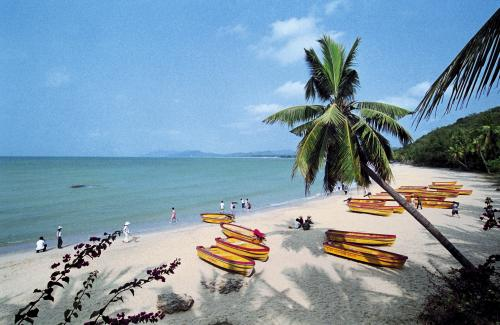 Пляж на Хайнань
