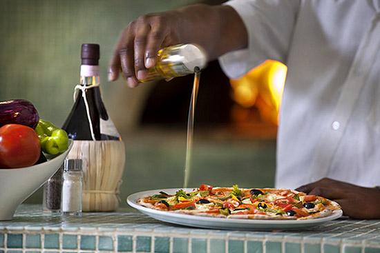 В ресторане доминиканского отеля