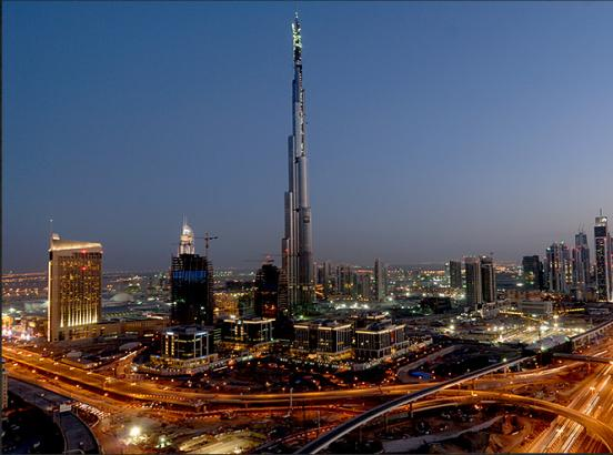 Небоскреб Burj Khalifa