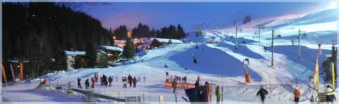 Куршавель- лучший горнолыжный курорт Франции