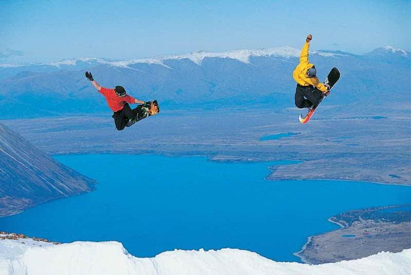 Уникальные способы катания на горнолыжных курортах Новой Зеландии