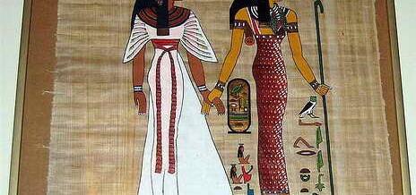 Наама-Бей или как выбрать настоящий папирус?