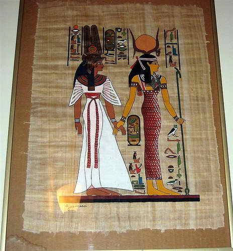 Лучший подарок из Египта - папирус