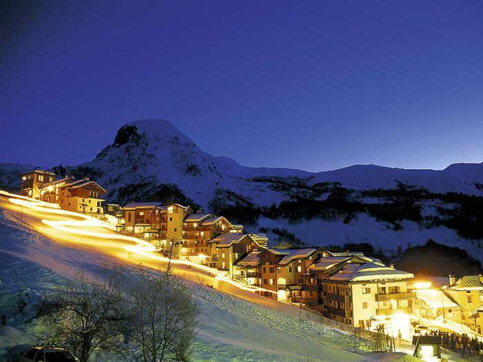 Французские лыжные курорты