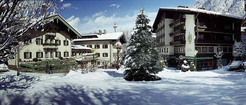 Отель Neue Post Hotel 4* на горнолыжном курорте Австрии