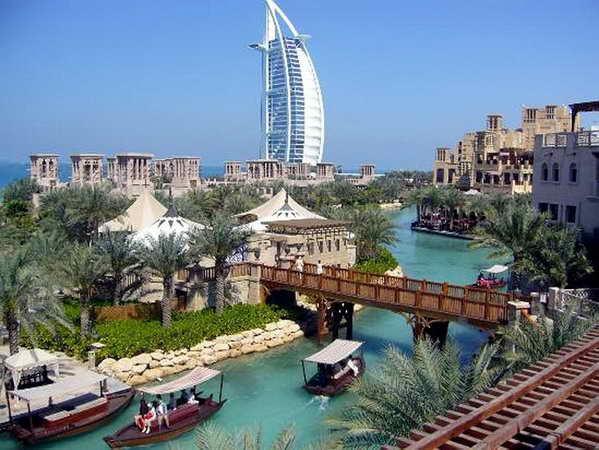 Пляжный отдых зимой в ОАЭ