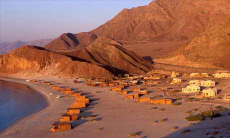 Пляжи Египта зимой