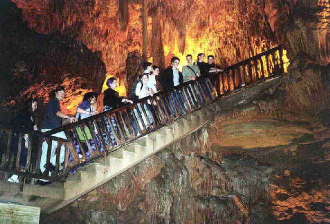 Пещера Дамлаташ в Аланье, Турция
